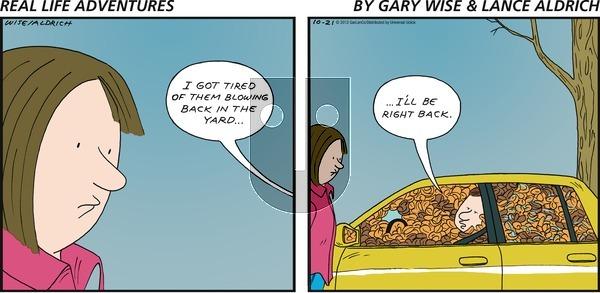 Real Life Adventures - Sunday October 21, 2012 Comic Strip
