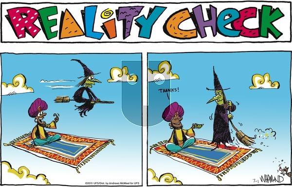 Reality Check on Sunday July 1, 2018 Comic Strip