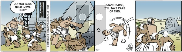 Alley Oop - Friday March 27, 2020 Comic Strip