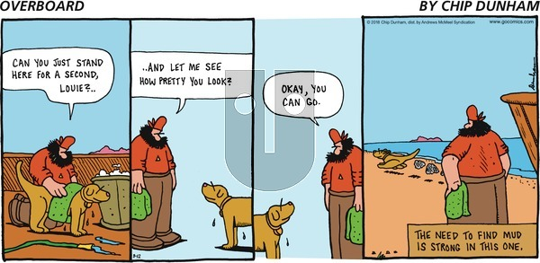 Overboard on Sunday August 12, 2018 Comic Strip