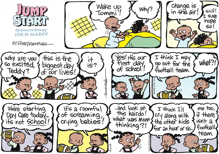 JumpStart for Sep 6, 2009 Comic Strip