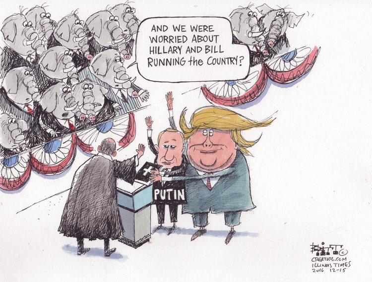 Chris Britt Comic Strip for December 16, 2016