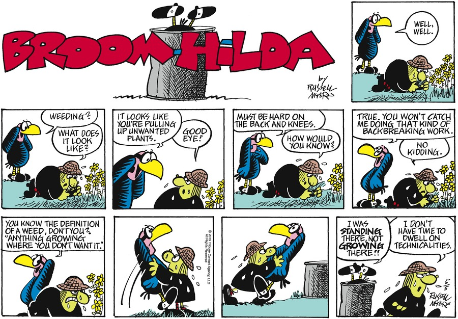 Broom Hilda by Russell Myers for May 05, 2019