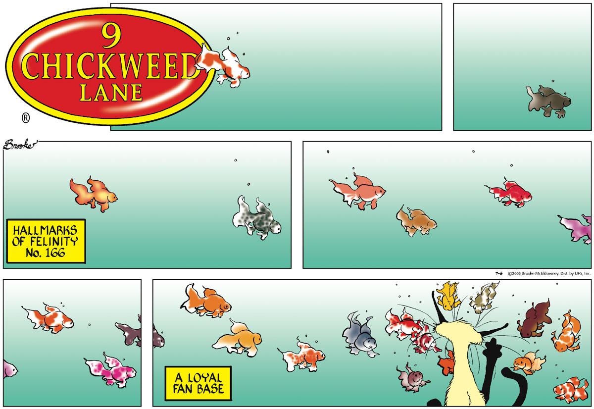 9 Chickweed Lane for Jul 6, 2003 Comic Strip