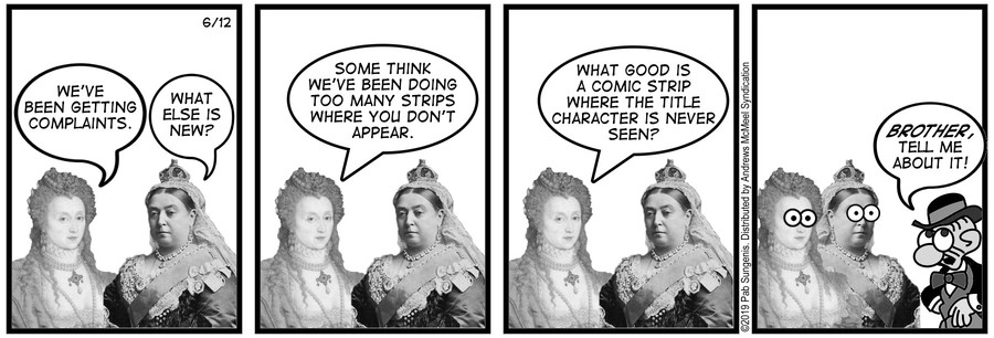 New Adventures of Queen Victoria Comic Strip for June 12, 2019
