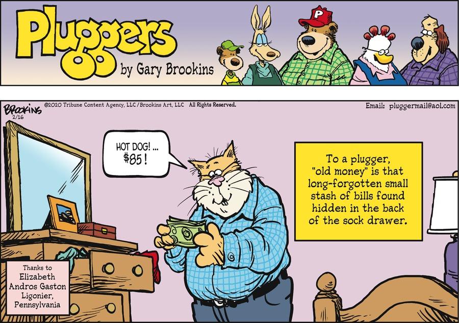 Pluggers by Gary Brookins on Sun, 16 Feb 2020