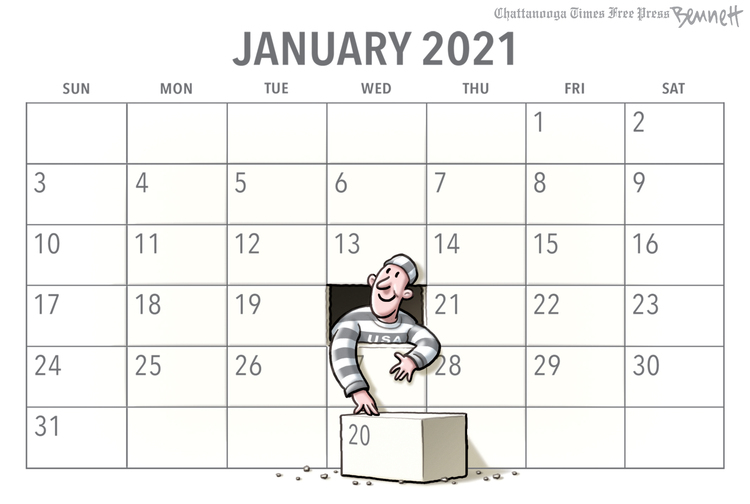 Clay Bennett Comic Strip for November 15, 2020