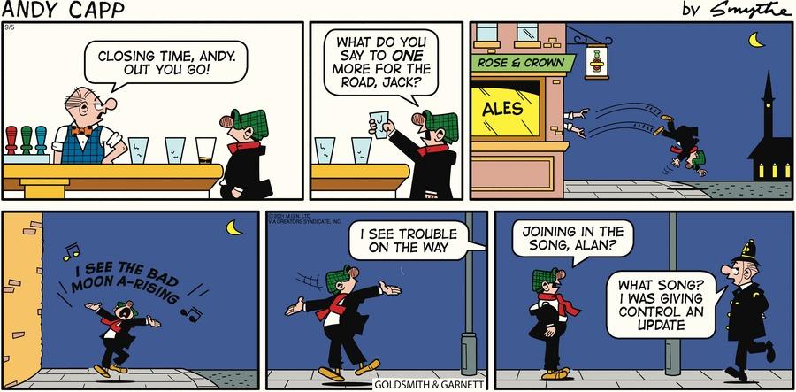 Andy Capp Comic Strip for September 05, 2021