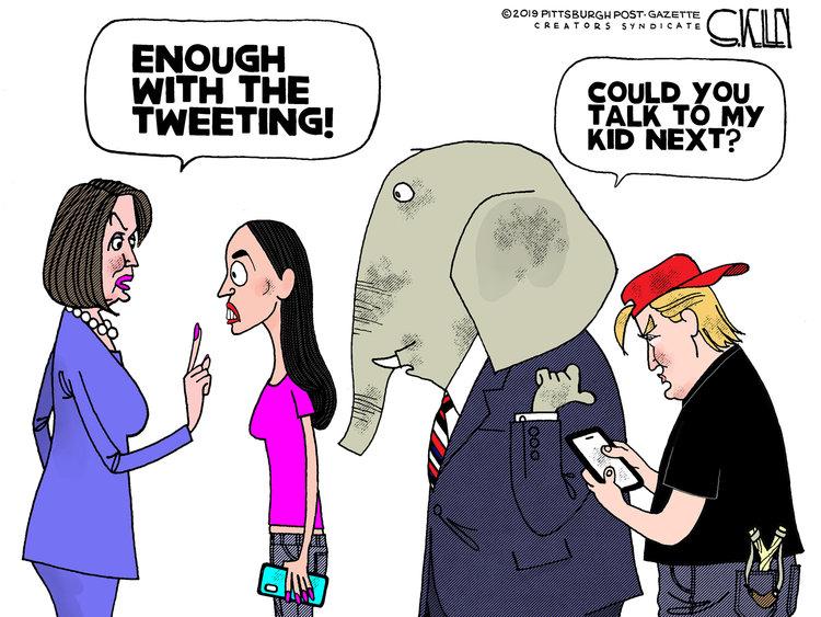 Steve Kelley Comic Strip for July 12, 2019