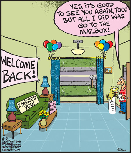Free Range Comic Strip for August 05, 2021