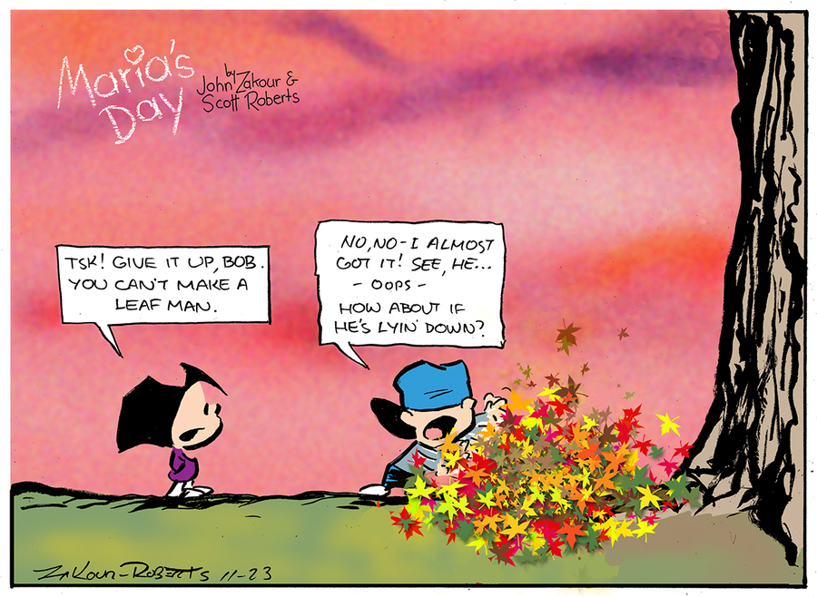 Maria's Day Comic Strip for September 26, 2021