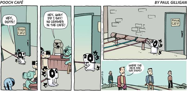 Pooch Cafe for Feb 13, 2011 Comic Strip