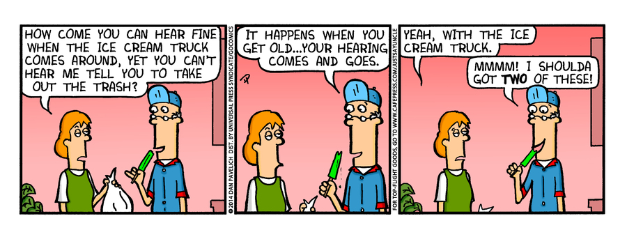 Just Say Uncle for Jul 16, 2014 Comic Strip