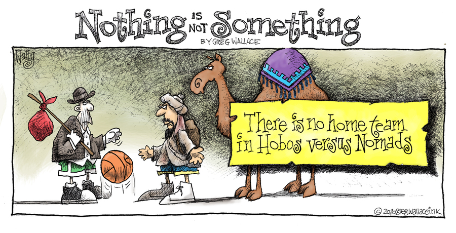 Nothing is Not Something Comic Strip for January 15, 2020