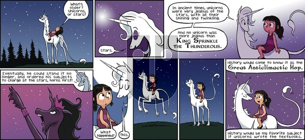 Phoebe and Her Unicorn on Sunday May 19, 2013 Comic Strip