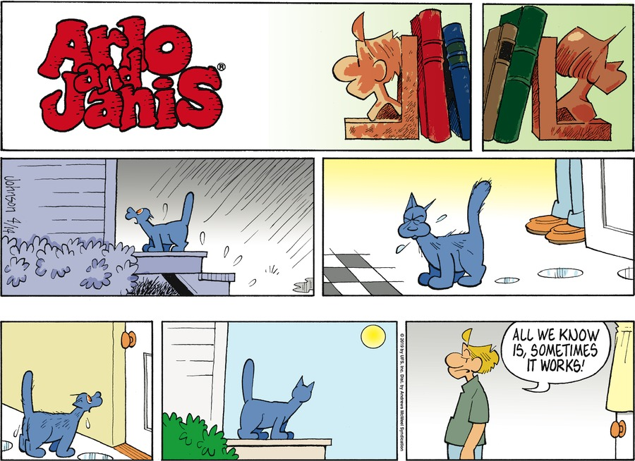 Arlo and Janis by Jimmy Johnson for April 14, 2019