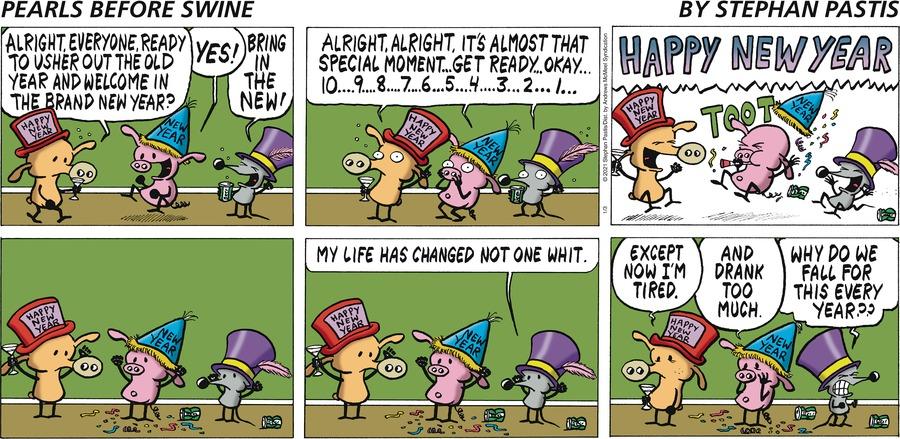 Pearls Before Swine Comic Strip for January 03, 2021