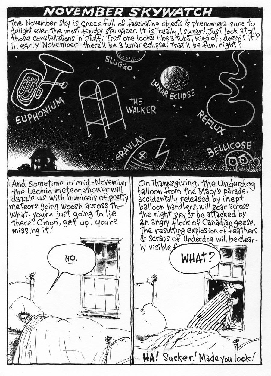 Richard's Poor Almanac Comic Strip for April 20, 2021