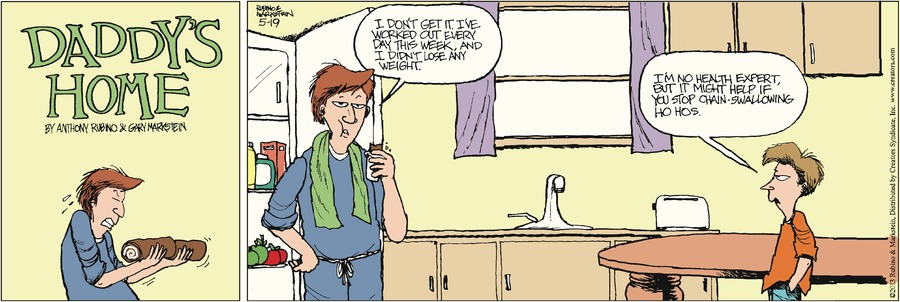 Daddy's Home for May 19, 2013 Comic Strip