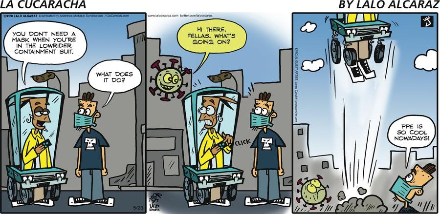 La Cucaracha Comic Strip for May 23, 2021