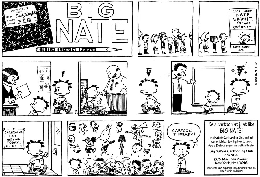 Big Nate: First Class Comic Strip for October 04, 2020