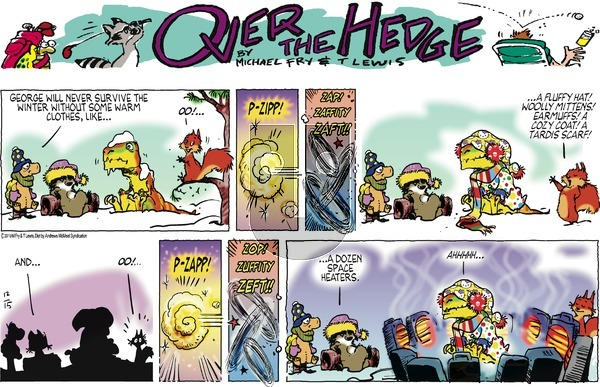 Over the Hedge on Sunday December 15, 2019 Comic Strip