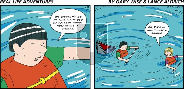 Real Life Adventures on Sunday June 23, 2019 Comic Strip
