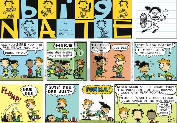 Big Nate on Sunday September 25, 2016 Comic Strip