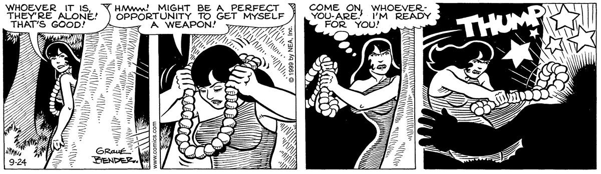 Alley Oop for Sep 24, 1999 Comic Strip