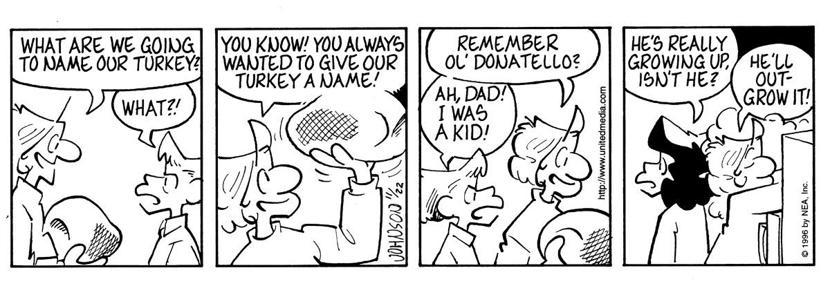 Arlo and Janis for Nov 22, 1996 Comic Strip