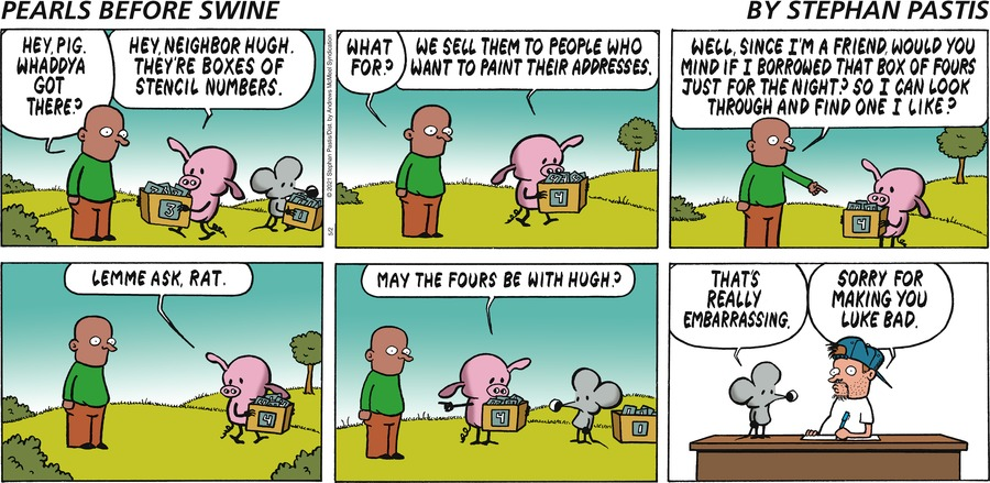 Pearls Before Swine Comic Strip for May 02, 2021