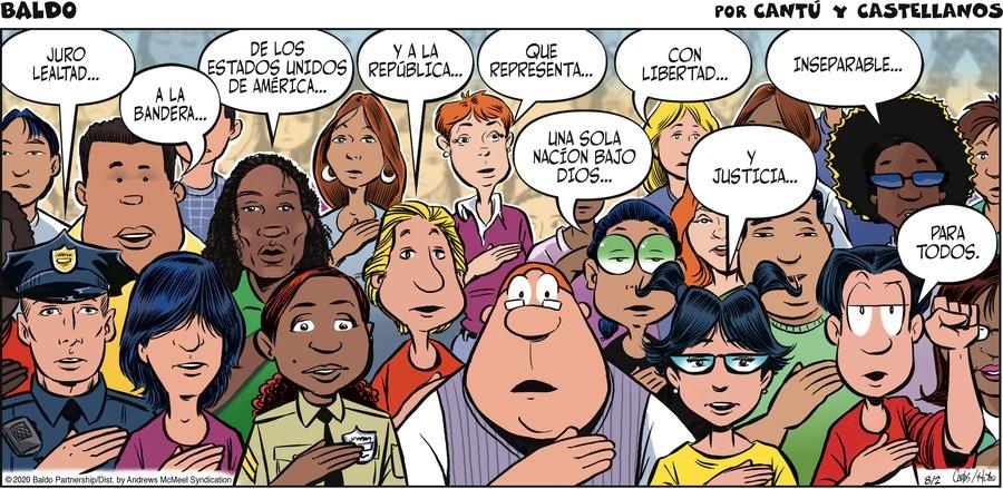 Baldo en Español Comic Strip for August 02, 2020