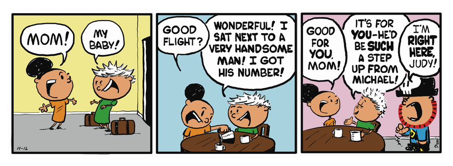 Pirate Mike Comic Strip for December 27, 2018