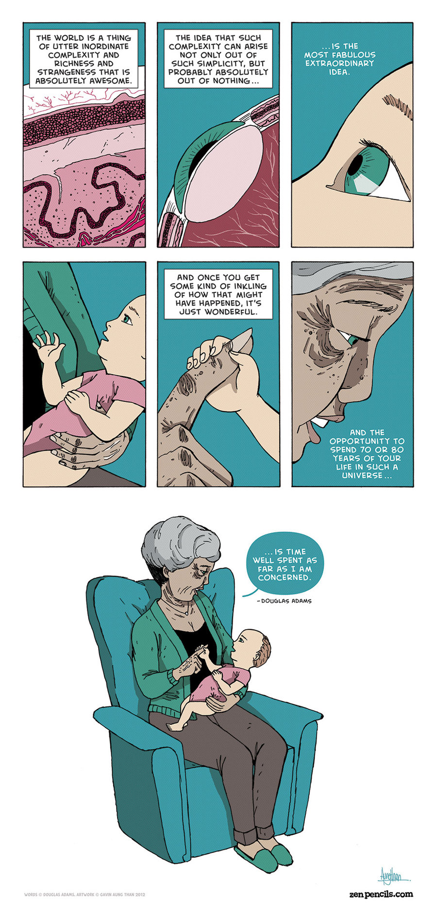 Zen Pencils Comic Strip for October 28, 2013