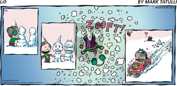 Lio on Sunday January 10, 2021 Comic Strip