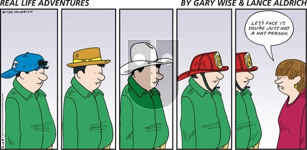 Real Life Adventures - Sunday March 29, 2020 Comic Strip