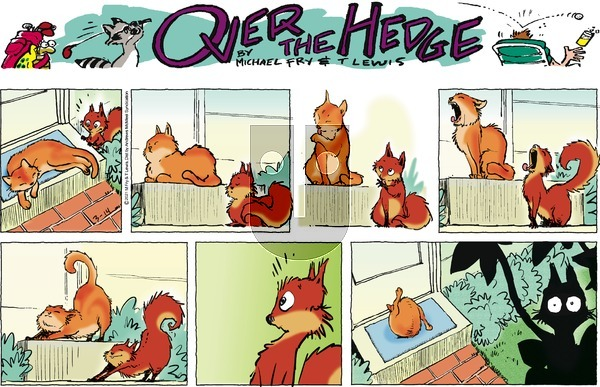 Over the Hedge on Sunday March 14, 2021 Comic Strip