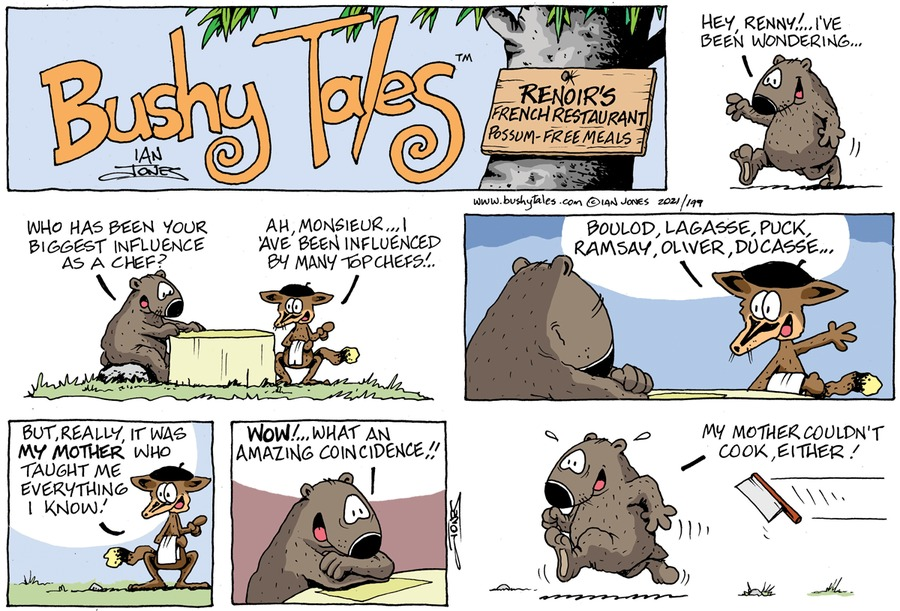 Bushy Tales by Ian Jones on Sun, 31 Jan 2021