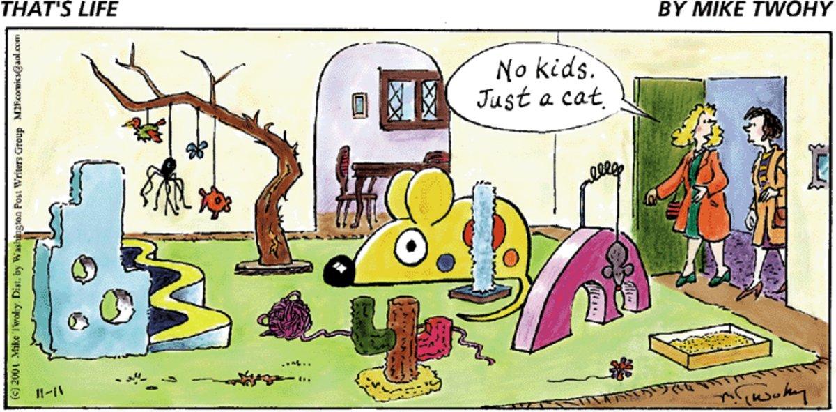 That's Life for Nov 11, 2012 Comic Strip