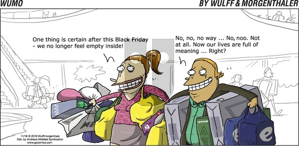 WuMo on Sunday November 18, 2018 Comic Strip