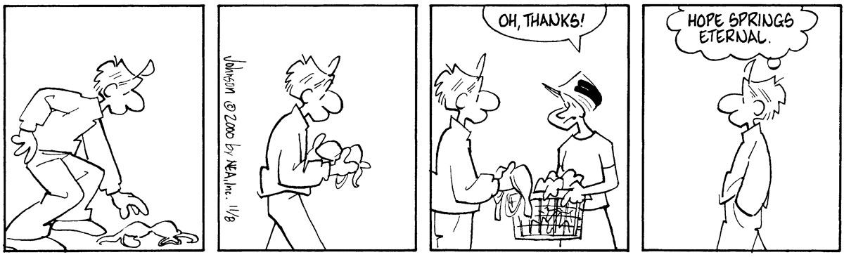Arlo and Janis Comic Strip for November 08, 2000