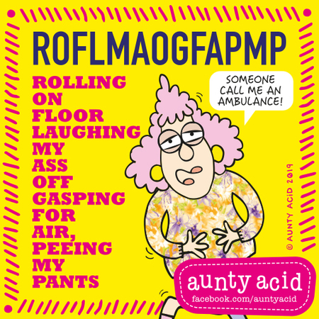 Aunty Acid by Ged Backland for September 02, 2019
