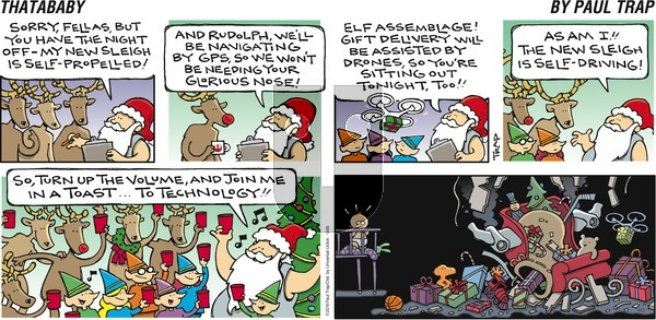 Thatababy on Sunday December 25, 2016 Comic Strip