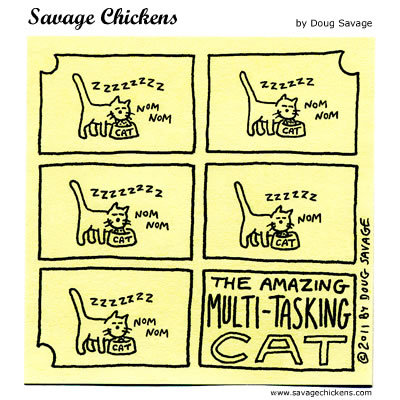 Savage Chickens Comic Strip for February 11, 2015