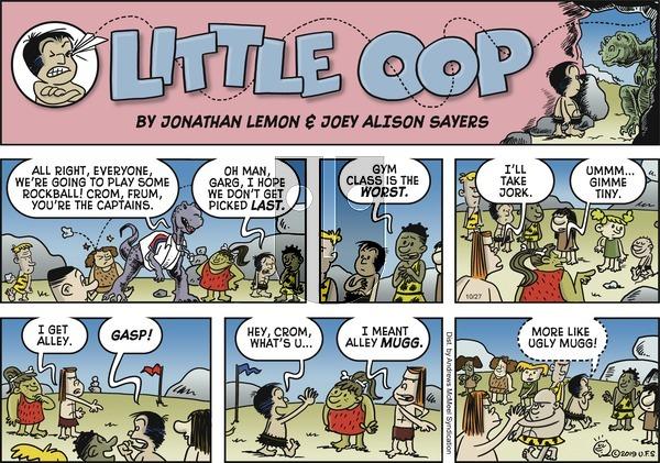 Alley Oop - Sunday October 27, 2019 Comic Strip