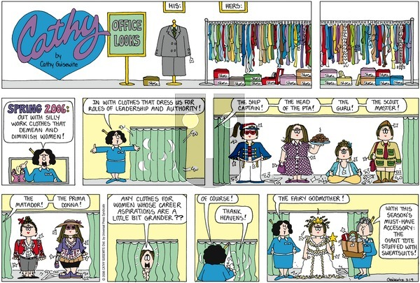 Cathy on Sunday March 19, 2006 Comic Strip