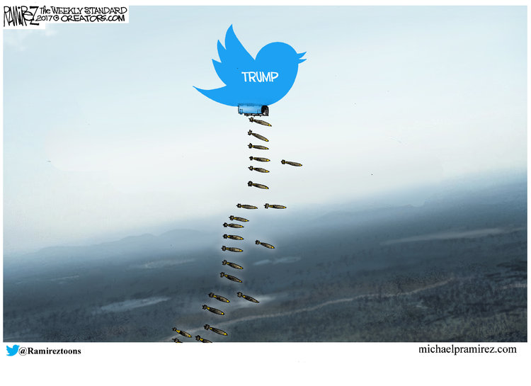 Michael Ramirez for Oct 2, 2017 Comic Strip