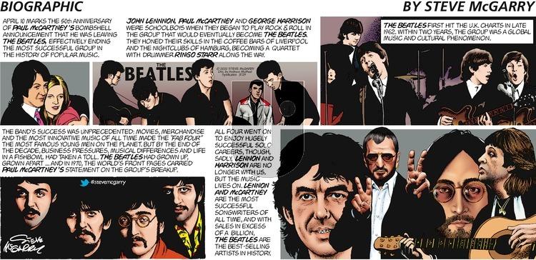 Biographic - Sunday March 29, 2020 Comic Strip