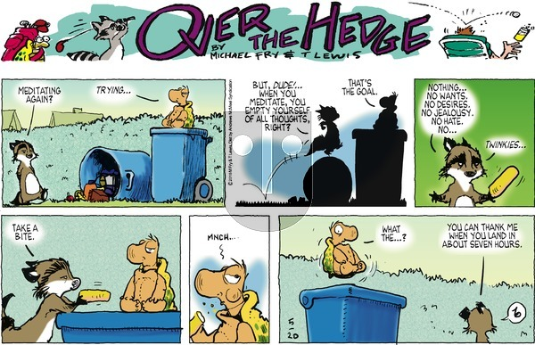 Over the Hedge on Sunday May 20, 2018 Comic Strip