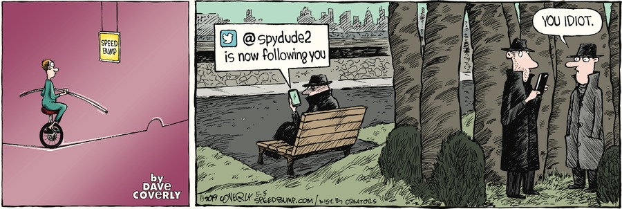 Speed Bump by Dave Coverly for May 05, 2019
